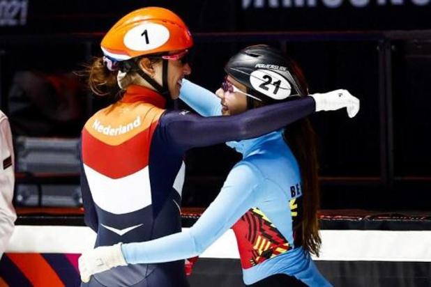 """Championnats du monde de shorttrack - Hanne Desmet a """"patiné fort"""" pour décrocher l'argent"""