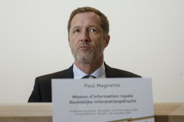 L'informateur Magnette poursuivra ses consultations avec la société civile