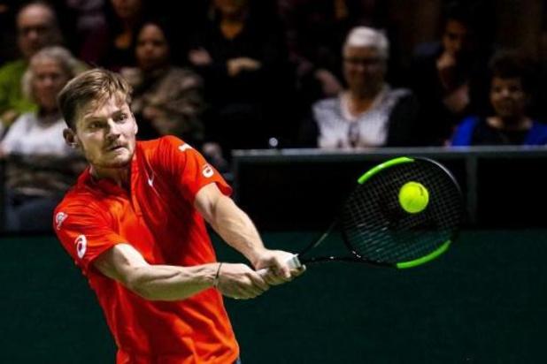 ATP Rotterdam - David Goffin débutera face au Néerlandais Robin Haase
