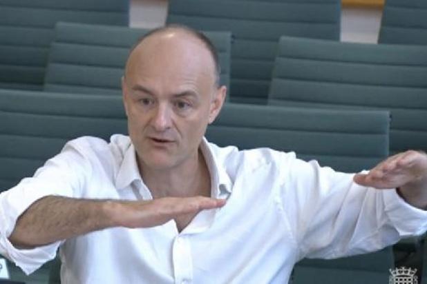 Voormalig adviseur Cummings snoeihard voor aanpak coronastrategie Britse premier Johnson