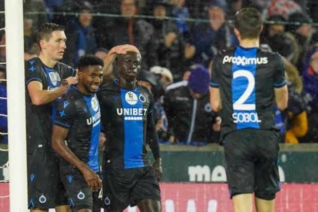 Jupiler Pro League - Le Club Bruges termine l'année par un large succès sur Zulte Waregem