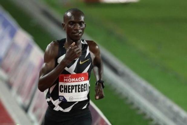 Diamond League Monaco - Joshua Cheptegei verbetert wereldrecord van Kenenisa Bekele op de 5.000 meter