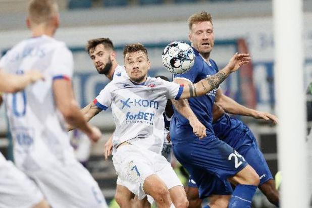Conference League - AA Gent via 3-0 zege tegen Rakow Czestochowa naar groepsfase