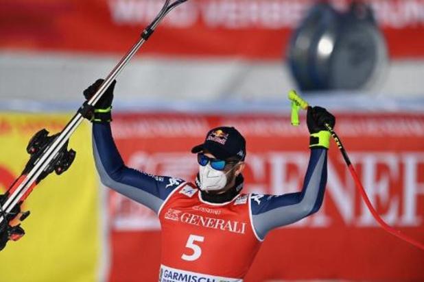 Dominik Paris wint afdaling Garmisch-Partenkirchen