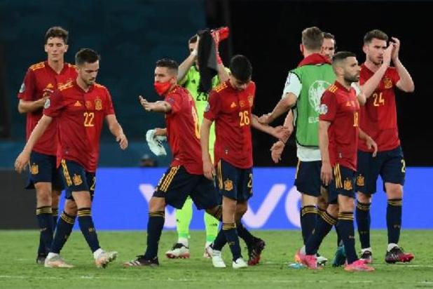"""L'Espagne """"à pile ou face"""" contre la Slovaquie, la Suède pour la première place"""