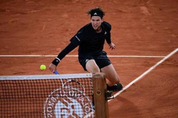 Roland-Garros - Dominic Thiem poussé aux cinq sets par Hugo Gaston mais en quarts de finale