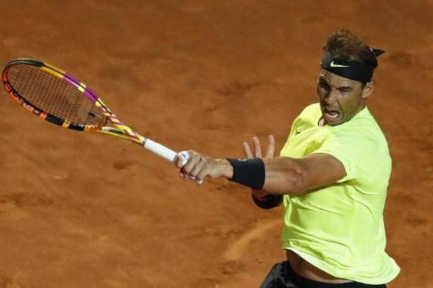 Rafael Nadal intraitable pour sa rentrée à l'ATP Rome