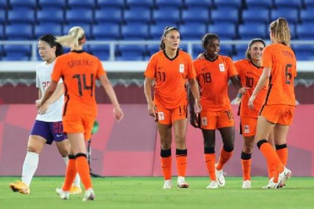 OS 2020 - Oranje Leeuwinnen verpulveren China en mogen zich opmaken voor kwartfinale tegen VS