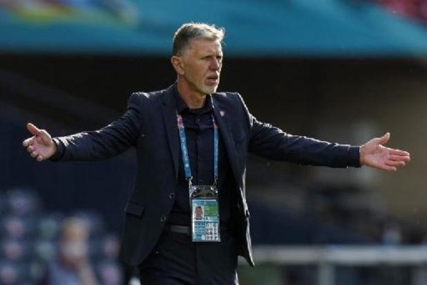"""Euro 2020 - """"Un point précieux de pris"""" pour Jaroslav Silhavy, le sélectionneur tchèque"""