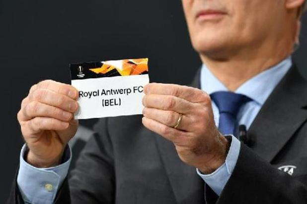 L'Antwerp attend le vainqueur du duel Omonia Nicosie - Flora Tallinn en barrages Europa League