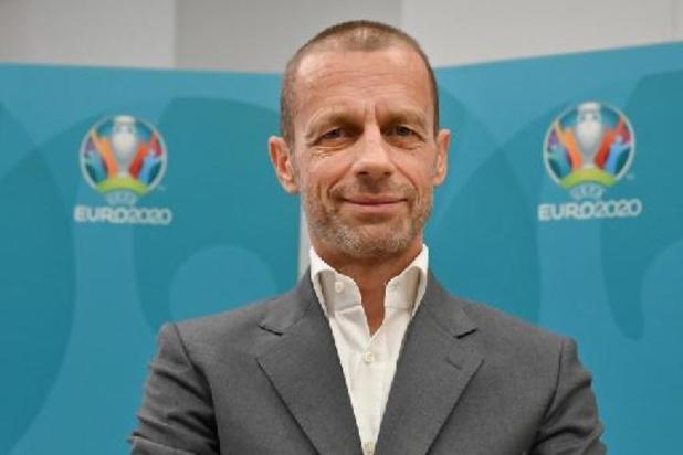 """Euro 2020: """"On doit tous s'adapter"""" pour réussir un tournoi """"pas habituel"""", note Aleksander Ceferin"""