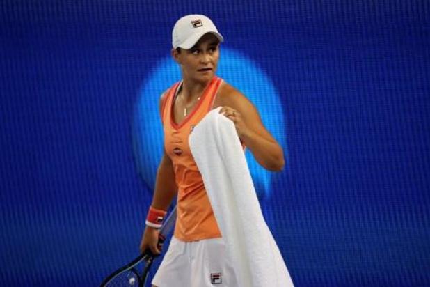 Ashleigh Barty krijgt finaleticket cadeau na forfait van Serena Williams