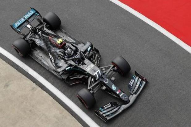 Valtteri Bottas (Mercedes) décroche sa 13e pole devant Lewis Hamilton 2e à 63/1000es