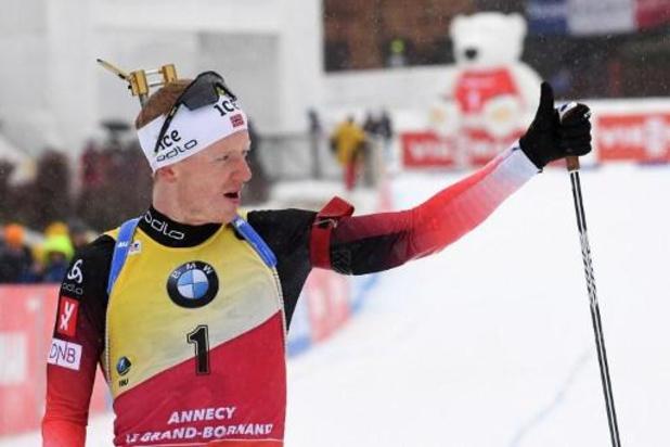Coupe du monde de biathlon - Johannes Boe, bientôt papa, manquera les deux prochaines étapes en Allemagne