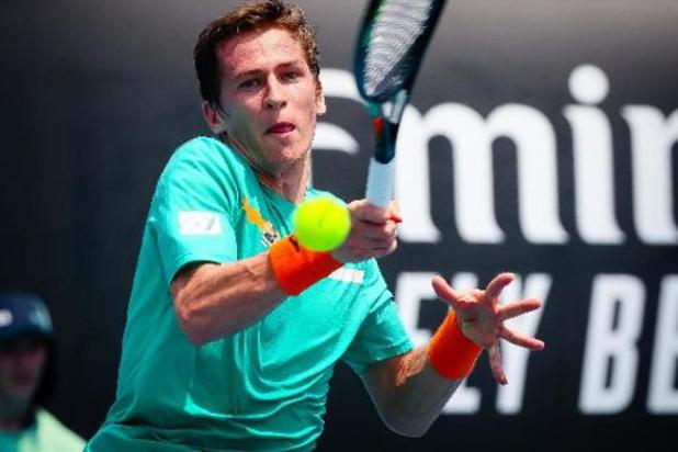 Challenger Launceston - Kimmer Coppejans grijpt naast enkelfinale maar speelt wel om dubbeltitel