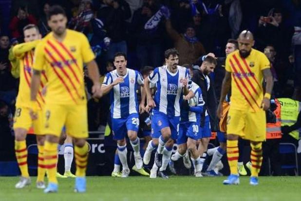 Primera Division - Accroché dans le derby, le Barça se fait rejoindre en tête par le Real