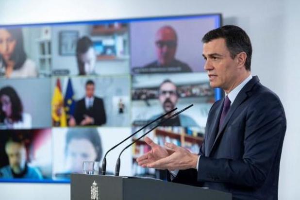 Laagste aantal nieuwe overlijdens in Spanje in twee maanden