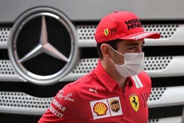 Leclerc kan door technisch probleem niet starten