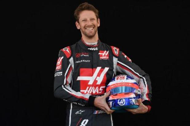 Romain Grosjean dans une F1 pour la première fois depuis son accident, en démo et en test