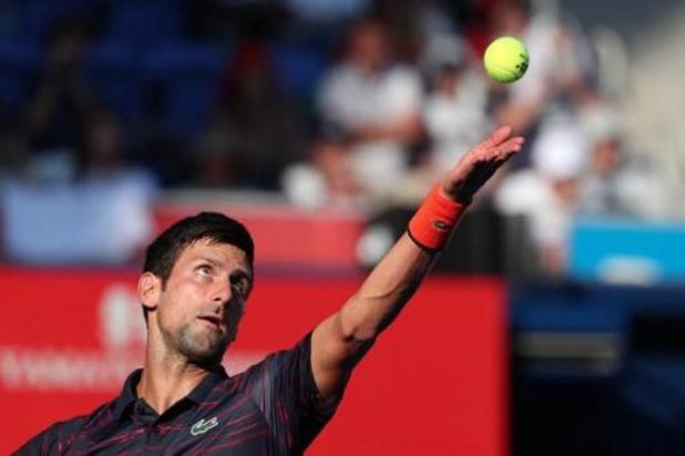 Novak Djokovic réussit ses débuts à Tokyo pour son retour à la compétition