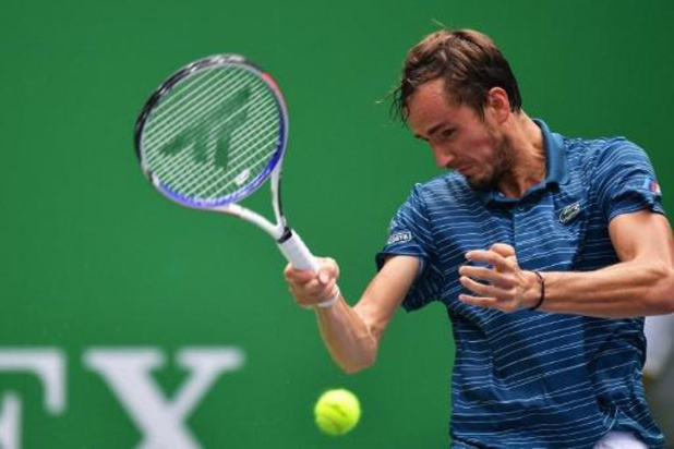 Medvedev naar zesde opeenvolgende finale