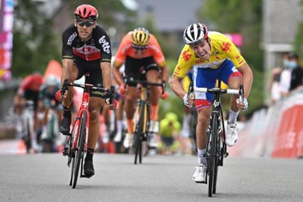 "Ronde van Wallonië - Philippe Gilbert berust: ""Tweede was hoogst haalbare"""