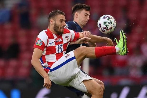 Euro 2020 - Nikola Vlasic Homme du Match de Croatie-Écosse
