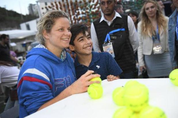 WTA Indian Wells - Kim Clijsters opnieuw onderuit in de eerste ronde
