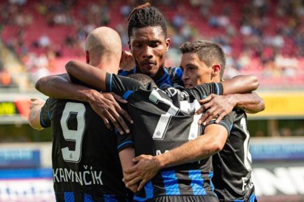 Club Brugge haalt zwaar uit in Waregem