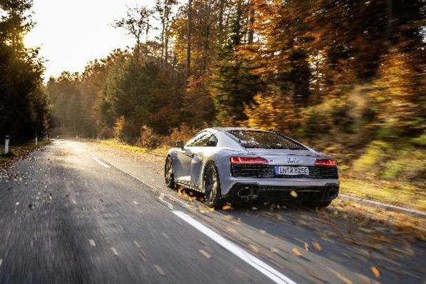L'Audi R8 poursuit sa carrière en deux roues motrices