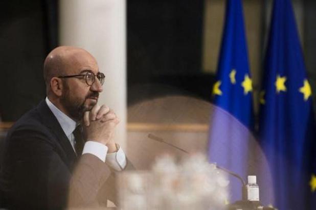 Charles Michel convoque un sommet européen en présentiel à Bruxelles le 25 mai