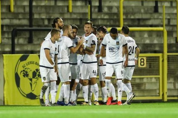 1B Pro League - L'Union s'impose 0-2 au Lierse et revient à 1 point de Seraing