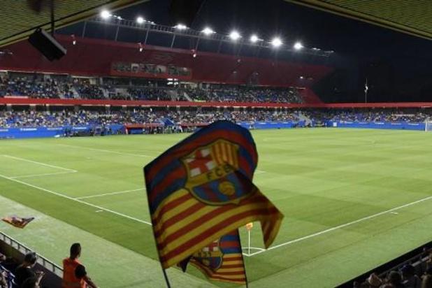 Crise en Catalogne: le clasico Barça-Real reporté, peut-être au 18 décembre