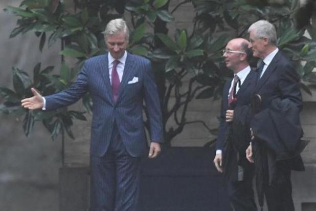 Formation fédérale: Rudy Demotte et Geert Bourgeois reçus au Palais royal