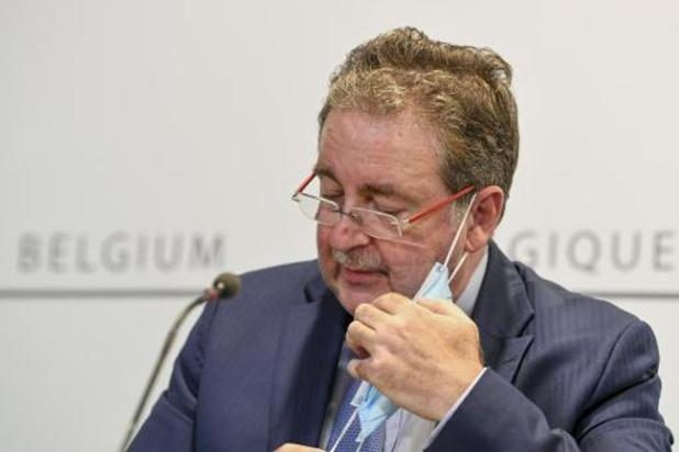 Les assouplissements attendront à Bruxelles, annonce Rudi Vervoort