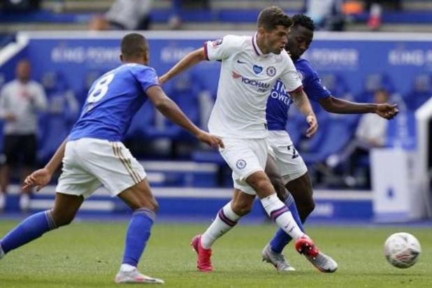 Les Belges à l'étranger - Chelsea file en demies de la Cup en éliminant Leicester, avec Tielemans et Praet