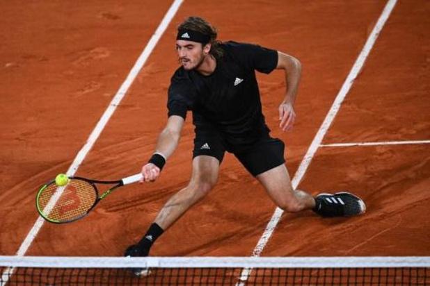 """Roland-Garros - """"Une blessure s'est réveillée"""" en fin de match, explique Tsitsipas"""