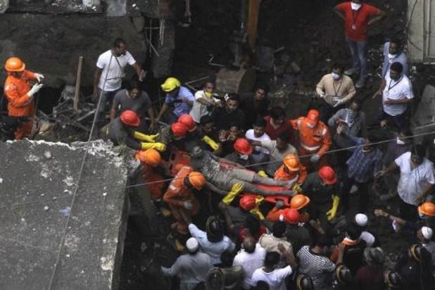 Effondrement d'un immeuble en Inde: 41 morts, fin des recherches