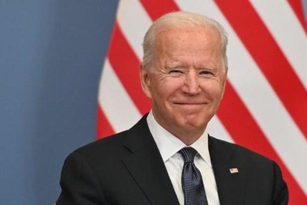 Joe Biden se réjouit de sa rencontre avec le Roi et le Premier ministre sur Twitter