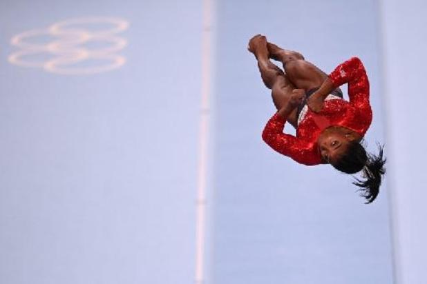 Simone Biles trekt zich terug uit teamfinale