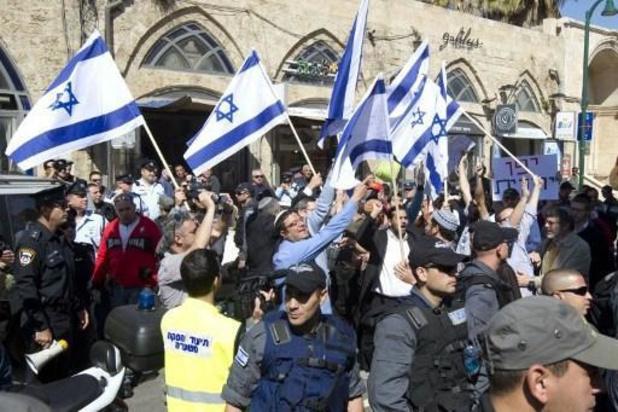 Toch rechtse 'vlaggenmars' in Jeruzalem