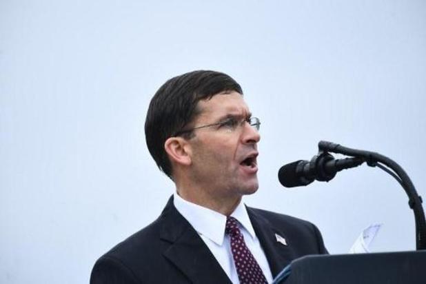Pas de retrait des forces US d'Afghanistan comme en Syrie, affirme le chef du Pentagone