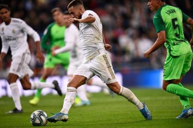 Belgen in het buitenland - Real Madrid haalt zwaar uit tegen Leganes