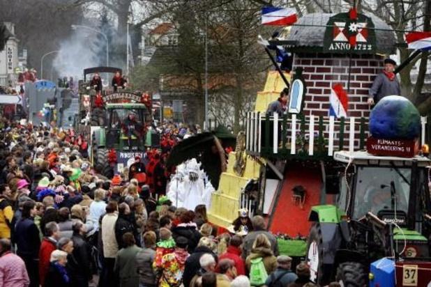 Carnavalsoptochten afgelast in Nederland vanwege harde wind