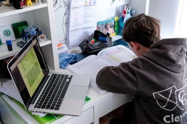 Een derde leerlingen verkiest afstandsonderwijs uit angst voor besmetting
