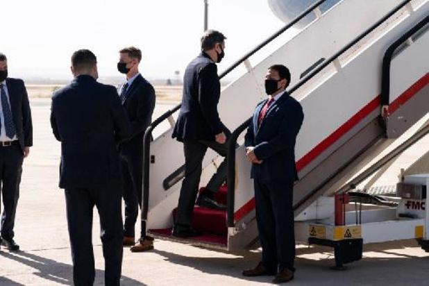 Le secrétaire d'Etat US Blinken boucle une tournée au Proche-Orient