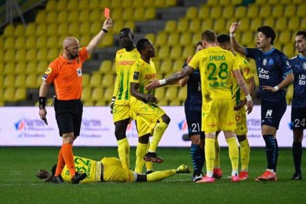 Belgen in het buitenland - Invaller Emond pakt met Nantes een punt tegen Marseille