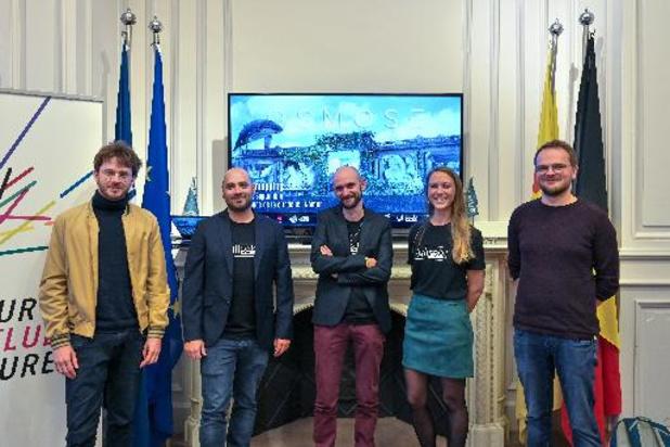 Un spectacle de vidéo mapping les 17 et 18 septembre à la Citadelle de Namur