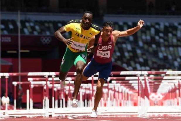JO 2020 - Le Jamaïcain Hansle Parchment champion olympique du 110 mètres haies