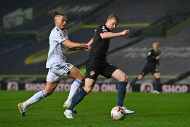 Les Belges à l'étranger - Kevin De Bruyne et Manchester City accrochés à Leeds United